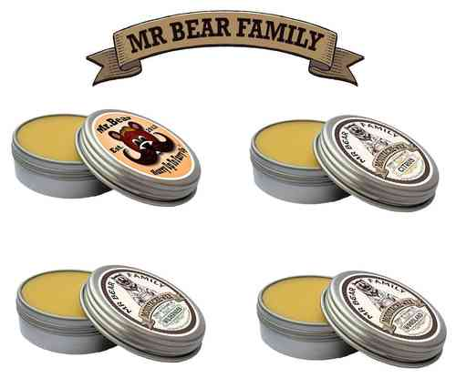 Mr Bear Family Moustache Wax 30ml