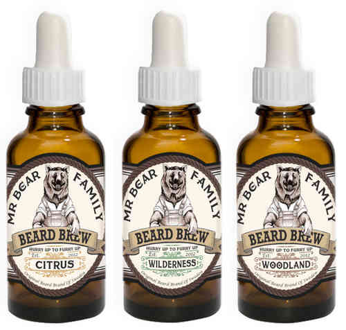 Mr Bear Family Beard Brew 30ml